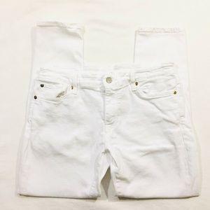 Denim Supply Ralph Lauren Womens White Jeans Sz 31